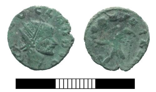 SUR-1470AD: Roman coin: Radiate of Claudius II