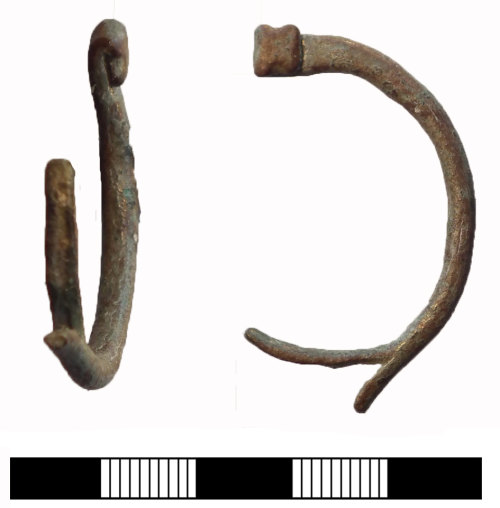 SUR-3D35C5: Roman: Pennanular brooch