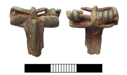 SUR-BF45C7: Roman: Colchester Brooch fragment