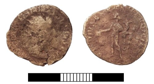 SUR-D3EDE4: Roman coin: Radiate of