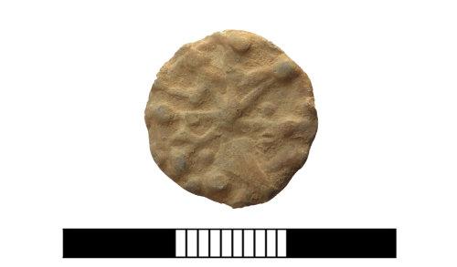 SUR-D85D0C: Post medieval: Lead token