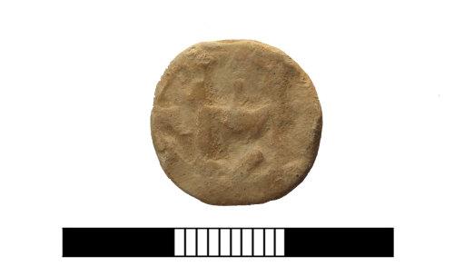 SUR-D861C5: Post medieval: Lead token