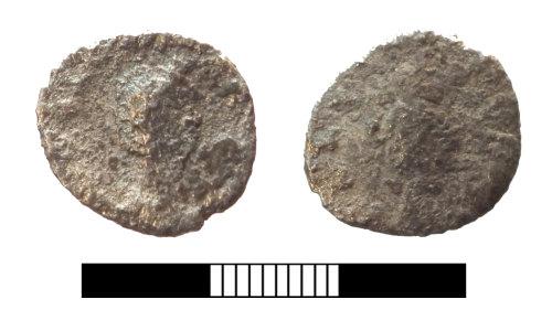 SUR-D883B5: Roman coin: Denarius of Julia Domna