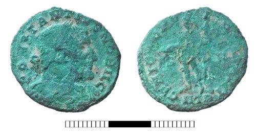 SUR-F223B2: Roman coin: Nummus of Constantius I