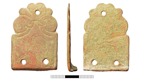 SUR-A2810F: Early medieval: Stirrup-strap mount