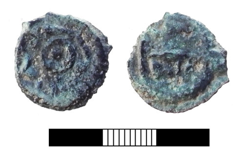 A resized image of Iron Age coin: Potin coin