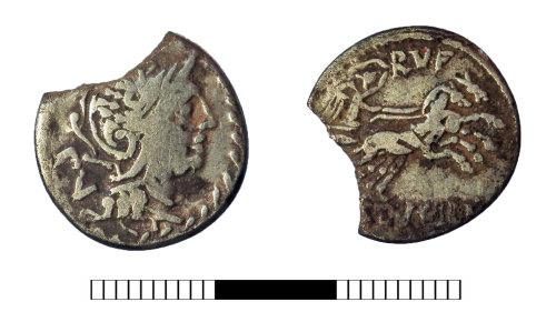 A resized image of Roman coin: Republican denarius