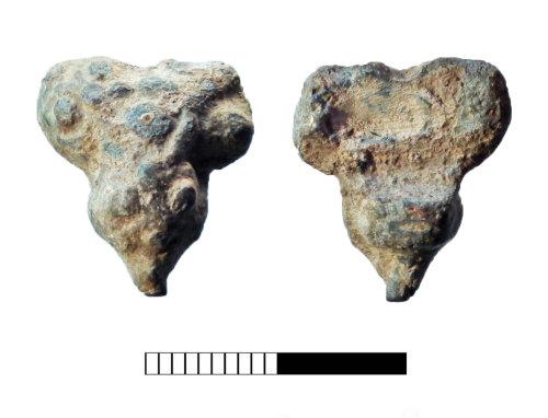 SUR-A8F5EA: Post medieval: Dress fastener