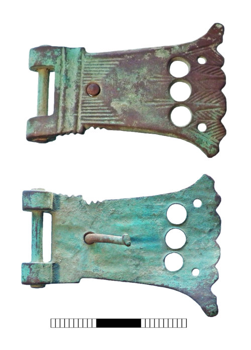 A resized image of Post medieval: Book clasp
