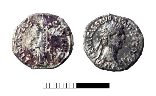 SUR-93081E: Roman coin: Denarius of Nerva