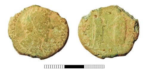 SUR-B91879: Roman coin: Sestertius of Marcus Aurelius