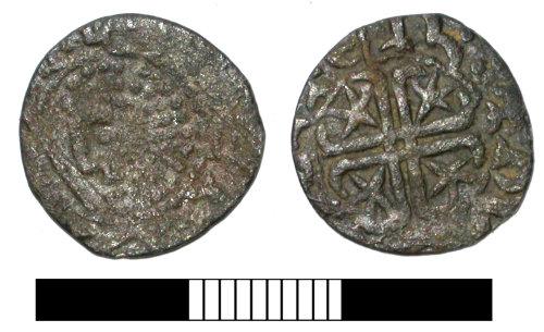 SUR-3FEBC7: Medieval coin: Scottish penny of William I