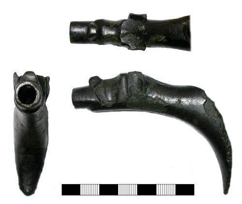 SUR-396B47: Medieval: Ewer spout