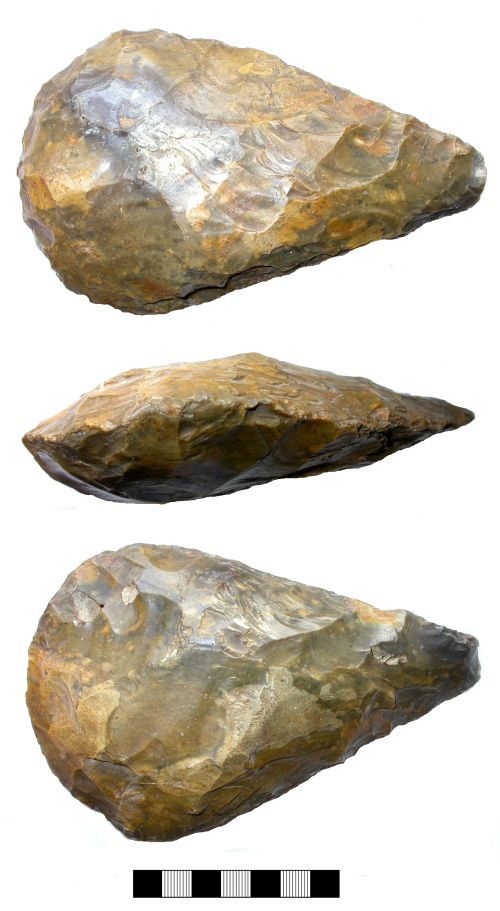 SUR-790197: Palaeolithic: Handaxe