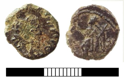SUR-603D87: Roman coin: Barbarous Radiate