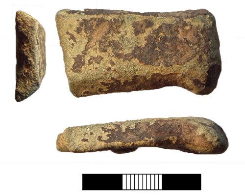 SUR-5C413B: Post medieval: Vessel handle
