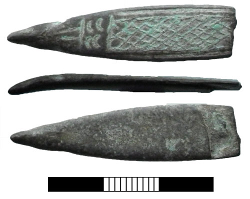 SUR-72A237: Early medieval: Strap end
