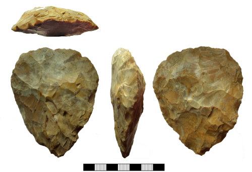 SUR-85BDCC: Palaeolithic: Handaxe