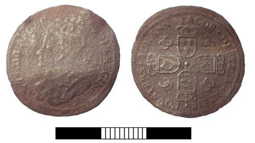 SUR-BA3588: Post medieval: Nuremberg jetton
