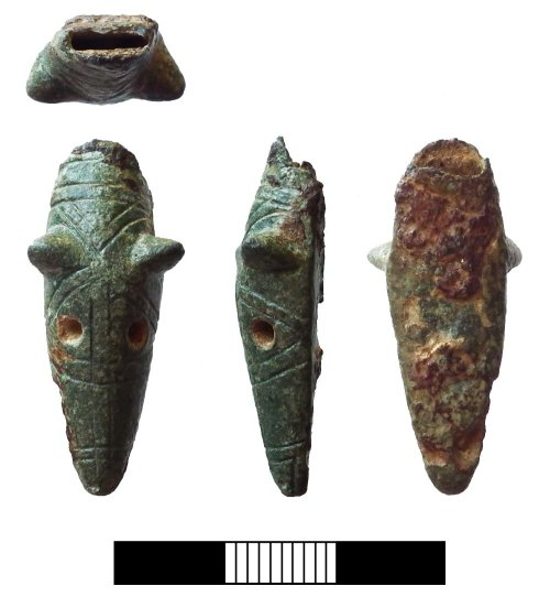 SUR-0C90A0: Early medieval: Unidentified zoomorphic object