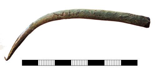 SUR-E82C24: Medieval to post medieval: Purse frame fragment