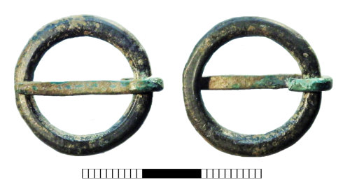 SUR-A91E13: Medieval: Annular buckle