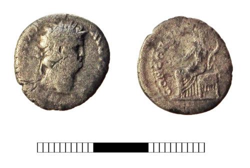 SUR-62E8B9: Roman coin: Denarius of Nero