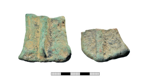 A resized image of Post medieval: Vessel feet