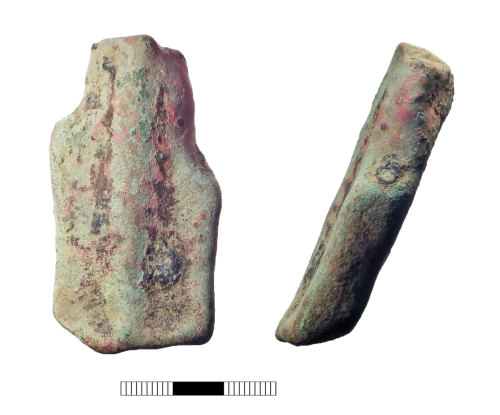 A resized image of Post medieval: Vessel foot