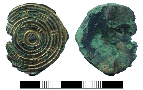 SUR-FE99C1: Early medieval: Saucer brooch