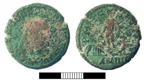 SUR-90AECA: Roman coin: Sestertius of Gordian III
