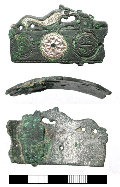 SUR-029B13: Early medieval: Scabbard fitting