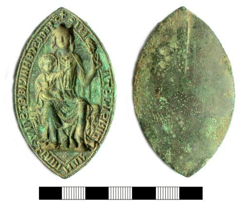 SUR-B74173: Medieval: Mnastic Seal of Stone Priory