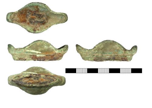 SUR-0BA197: Roman: Sword hilt fragment