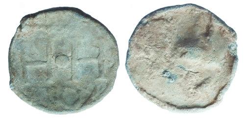 SUR-3DD46F: Post medieval: Lead token