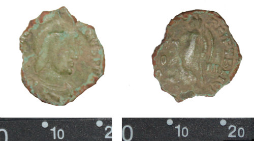 DEV-B79661: Nummus of  Valentinian