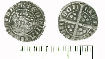 DEV-DC2821: Medieval coin: Penny of Edward I