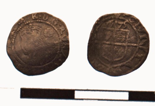 DEV-4C519F: Post Medieval coin: threehalfpence of Elizabeth I