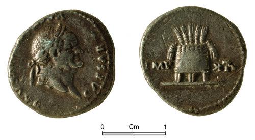NMGW-5FC137: Roman silver coin