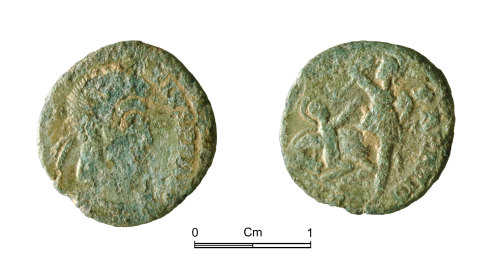 NMGW-5CEEAD: Roman copper alloy coin