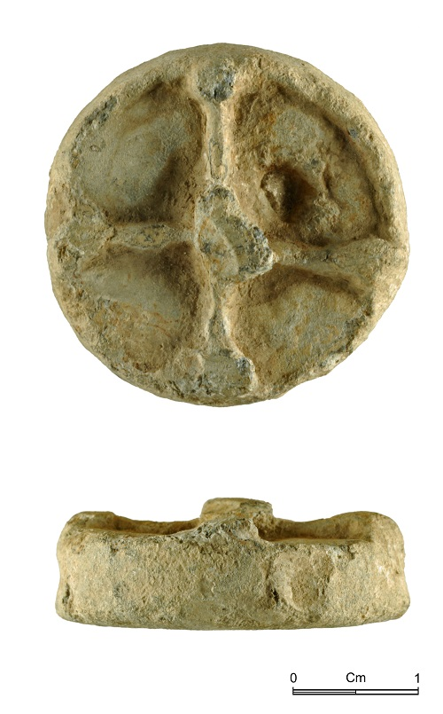 NMGW-5DED1E: Lead weight, probably of medieval or post medieval date