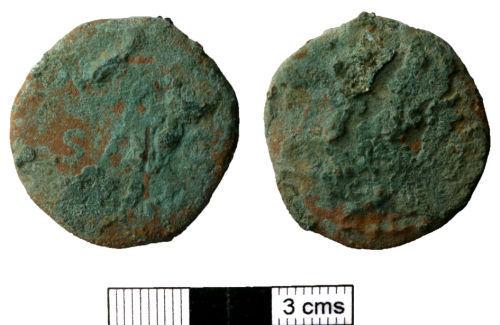NMS-18E587: Roman Coin.
