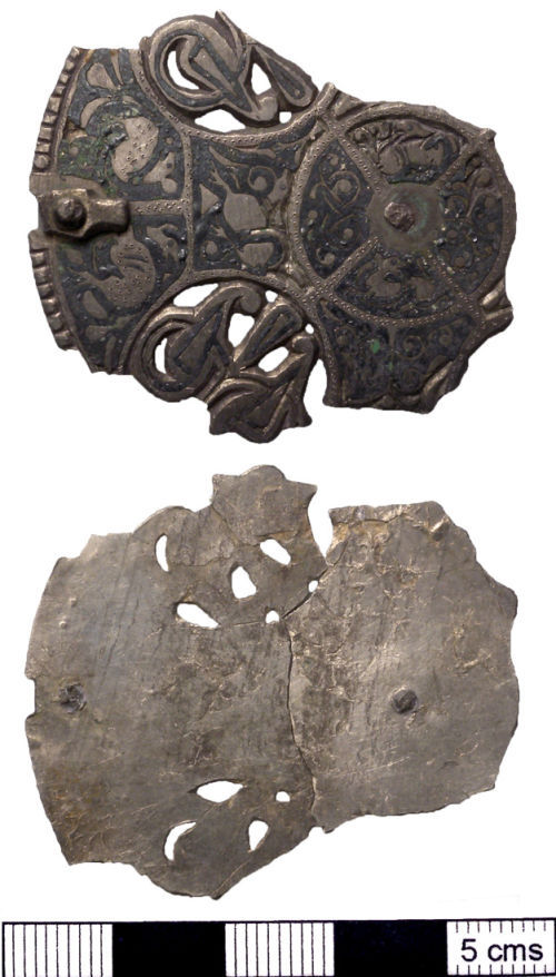 NMS-972E58: Late Early Medieval brooch