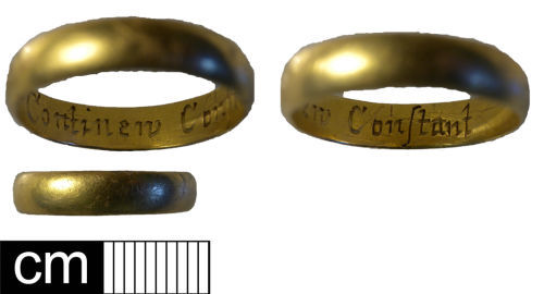NMS-FFED42: Post medieval finger ring