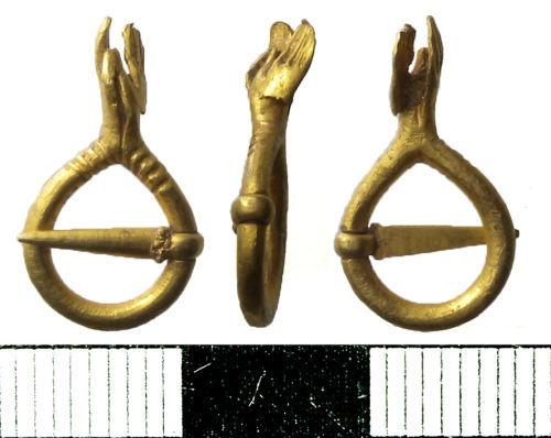 NMS-7E5746: Medieval Annular Brooch