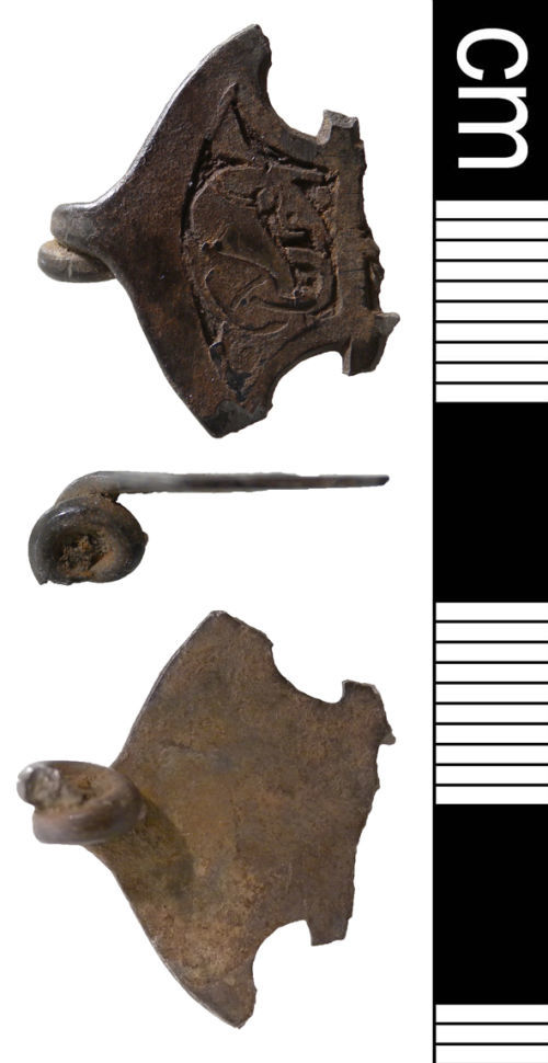 NMS-22D466: Middle or Late Saxon brooch