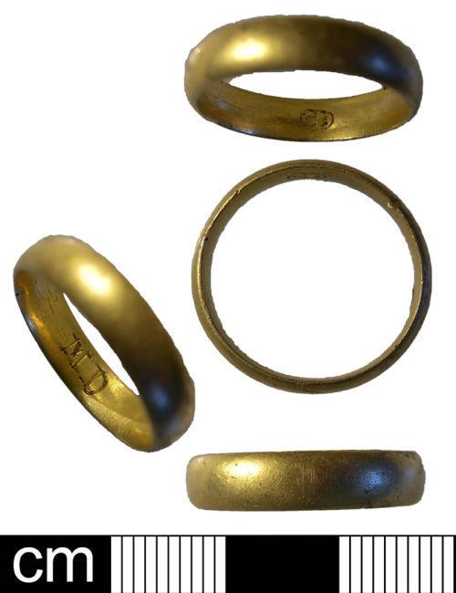 NMS-80160D: Post medieval finger ring