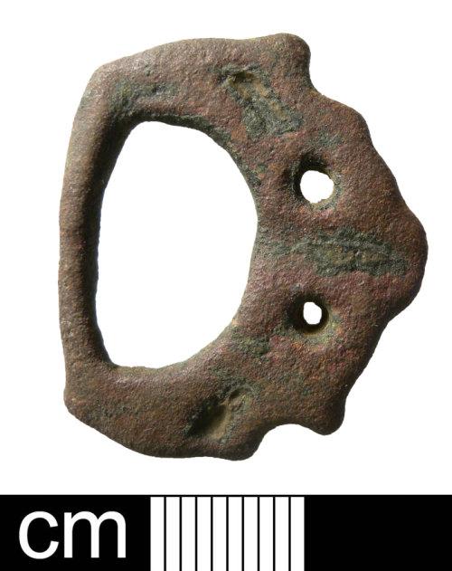 NMS-1E22D9: Late Saxon buckle