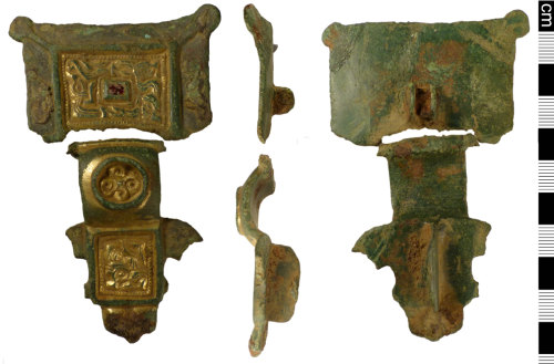 NMS-74D8BB: Early Saxon brooch