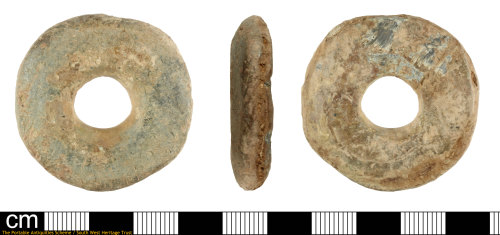 SOM-03E48F: lead spindle whorl of unknown date